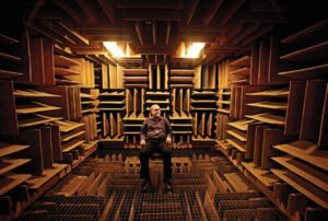Quietest Room On Earth Anechoic Chamber